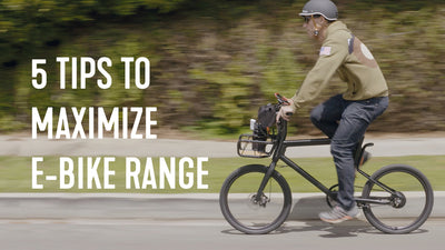 5 Tips to Maximize E-Bike Range