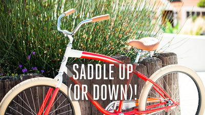 Saddle Up (or Down)!