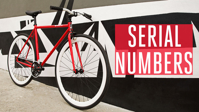 Bike Serial Numbers – Pure Cycles