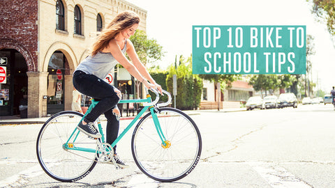 Top 10 Bike to School Tips