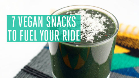 7 Vegan Snacks to Fuel Your Ride