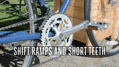 Shift Ramps and Short Teeth: How Geared Chainrings Work