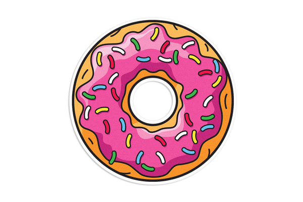 Donut Decal