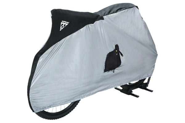 "Topeak Bike Cover for 26 "" MTB Bikes White/Black"