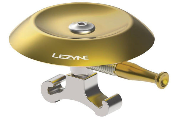 Lezyne Classic Shallow Brass Bell: Silver