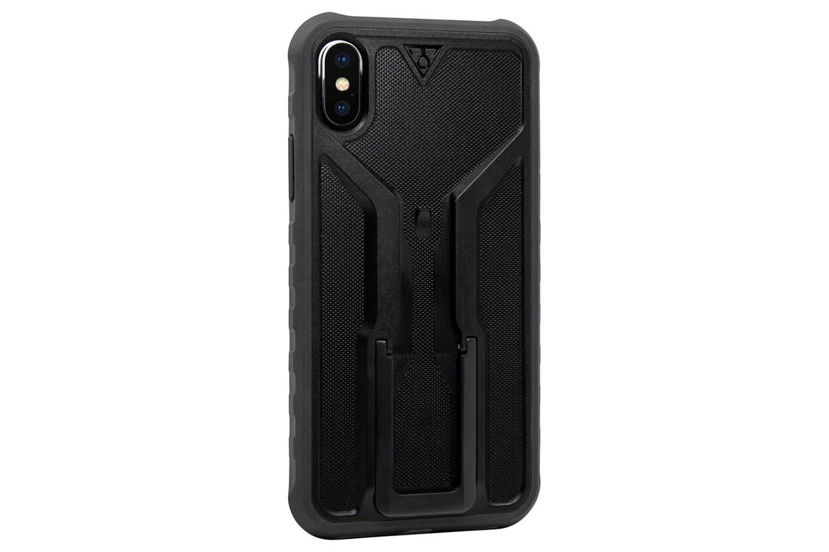 Topeak RideCase with RideCase Mount for iPhone X: Black/Gray
