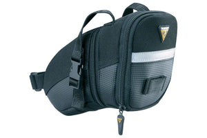 Topeak Aero Wedge Seat Bag: MD, Black
