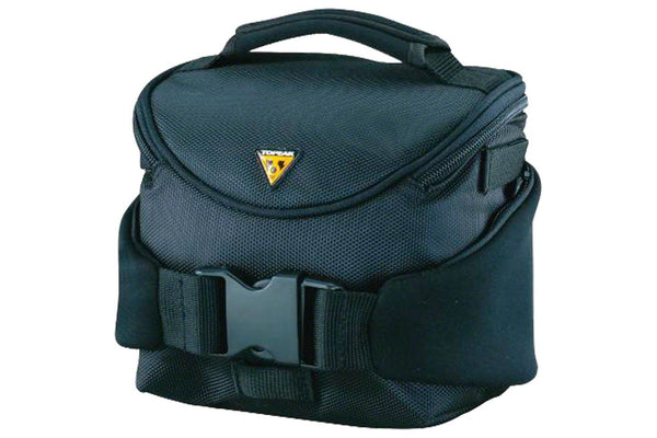 Topeak Compact Handlebar Bag/Fanny Pack with Fixer 8, Black