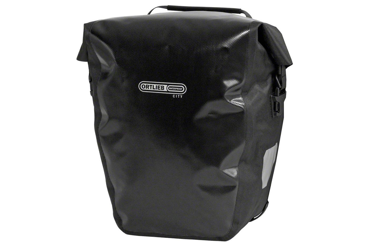 Ortlieb Back-Roller City Rear Pannier: Pair~ Black