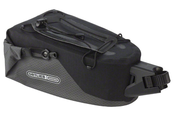 Ortlieb Seatpost Bag: MD, Slate Black