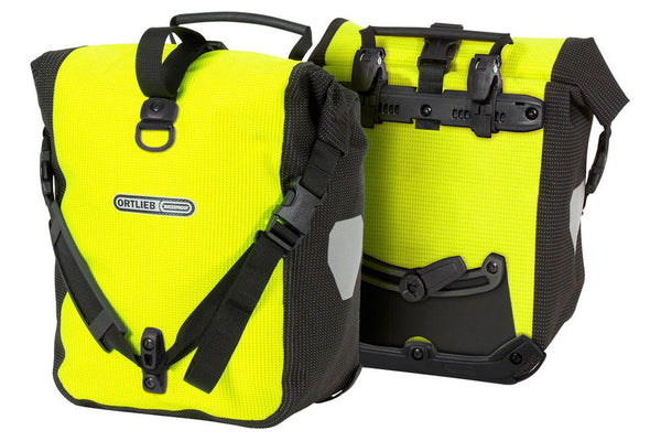 Ortlieb Sport-Roller High Visibility: 25 Liter, Pair, Yellow