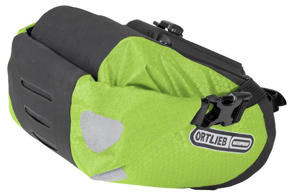 Ortlieb Two Saddle Bag: Lime 1.6L