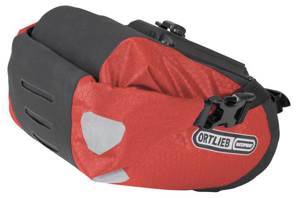 Ortlieb Two Saddle Bag: Red 1.6L