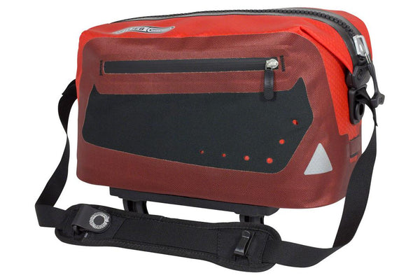 Ortlieb Trunk Bag: Red