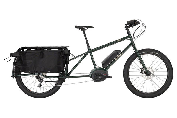 "Surly Big Easy Cargo Bike - 26"", Steel, Deep Forest Green, Small"
