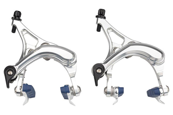 Velo Orange Grand Cru Long Reach Front and Rear Brakeset: Silver