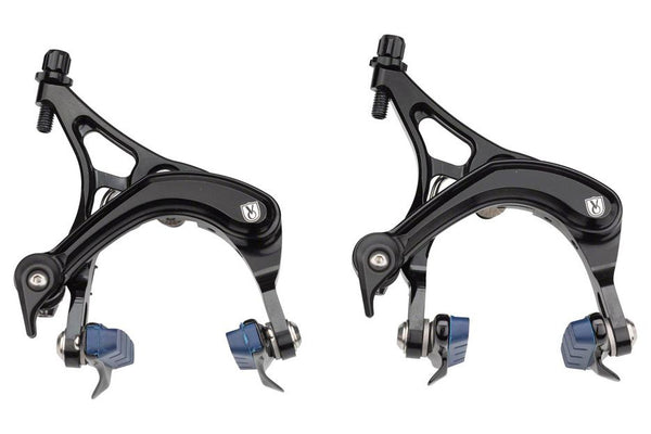 Velo Orange Grand Cru Long Reach Front and Rear Brakeset: Black