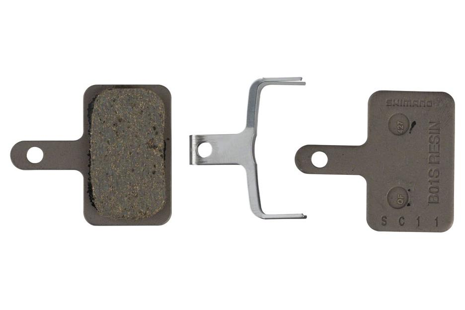 Shimano B01S Resin Disc Brake Pad and Spring - Apex Brake Pads