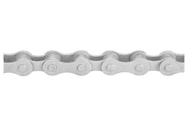 "KMC 410RB Chain: Rustbuster 1/8"" 112 Links Silver"