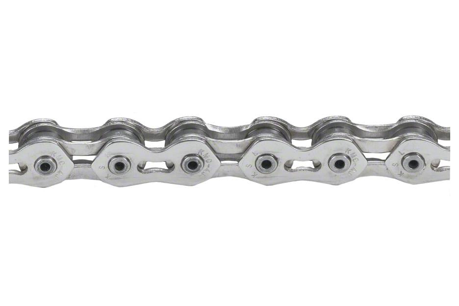 "KMC K710SL SuperLite Kool Chain: 1/8"" 100 Links Silver"