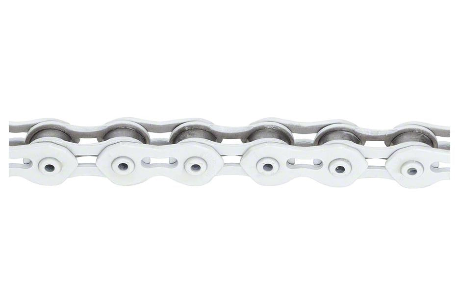 "KMC K710SL SuperLite Kool Chain: 1/8"" 100 Links White"