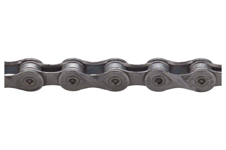 KMC X9EPT Eco ProTeq Chain: 9-Speed 116 Links Gray