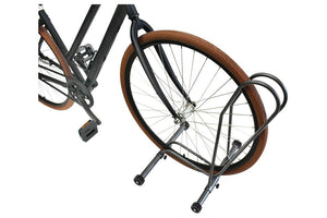 Delta Shop Rack Adjustable Floor Stand with Wheels: Holds One Bike