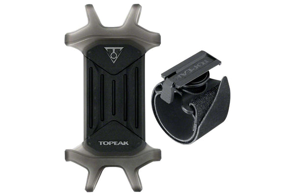 "Topeak Omni RideCase for 4.5"" to 5.5"" Phones with adjustable strap mount, Black"