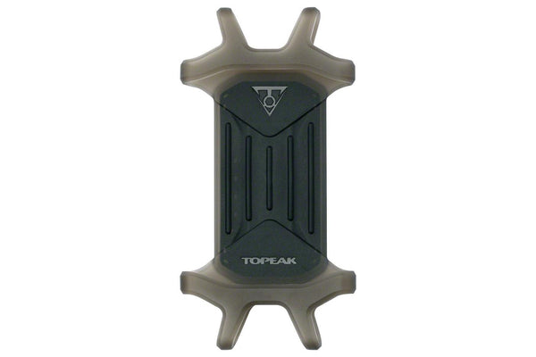 "Topeak Omni RideCase DX for 4.5"" to 5.5"" phones with stem cap and bar mount, Black"