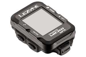 Lezyne Micro GPS Loaded Cycling Computer with Heart Rate: Black