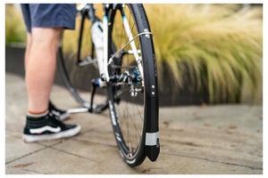 Portland Design Works Full Metal Road Plus Fender Set: Black (700c x 25-30mm)