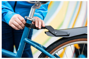 Portland Design Works Origami Clip-on Fender, Reflective: Rear