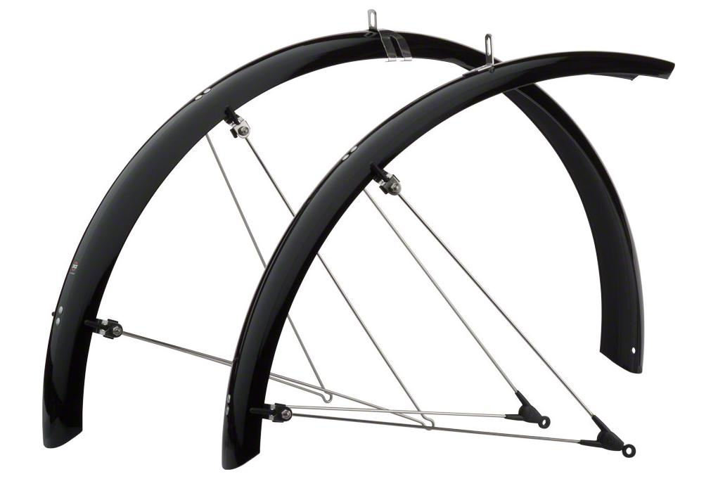 SKS B65 Commuter II Fender Set: Black 29 x 1.6-2.3