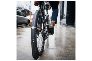 Portland Design Works Full Metal 650 Beast Fenders: Gray, (650b/27.5 x 46mm)