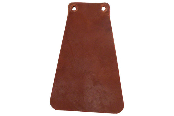 Velo Orange Handcut Leather Mud flap for Fender: Brown