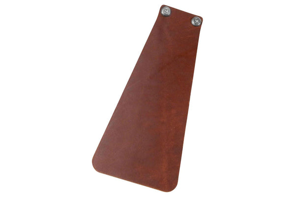 Velo Orange Handcut Long Leather Mud flap for Fender: Brown