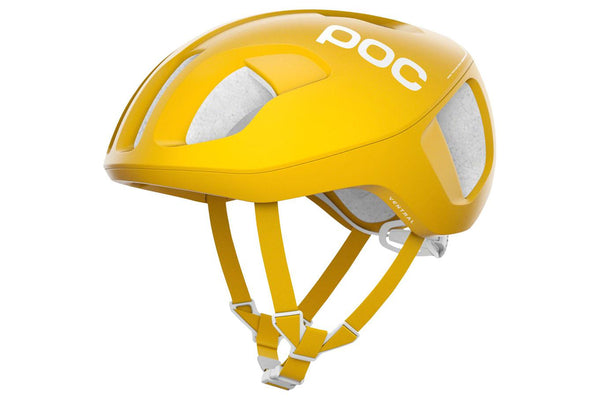 POC Ventral SPIN Helmet: Sulphite Yellow LG