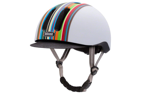 Nutcase Metroride Bike Helmet: Technicolor Matte LG/XL