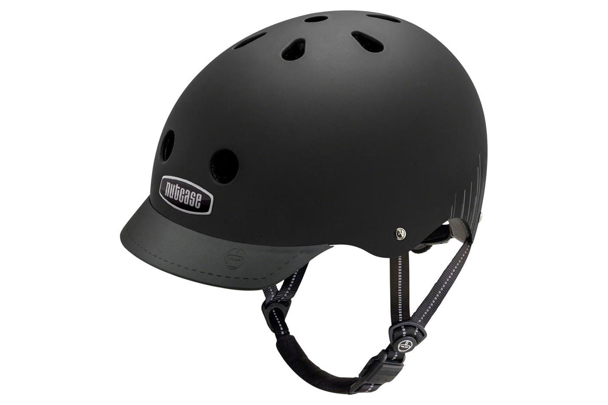 Nutcase Street MIPS Helmet: Blackish Wavelength Matte, SM