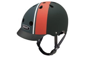Nutcase Street Helmet: Element Stripe Matte, SM