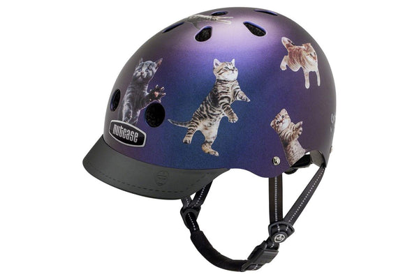 Nutcase Street Helmet: Space Cats, SM