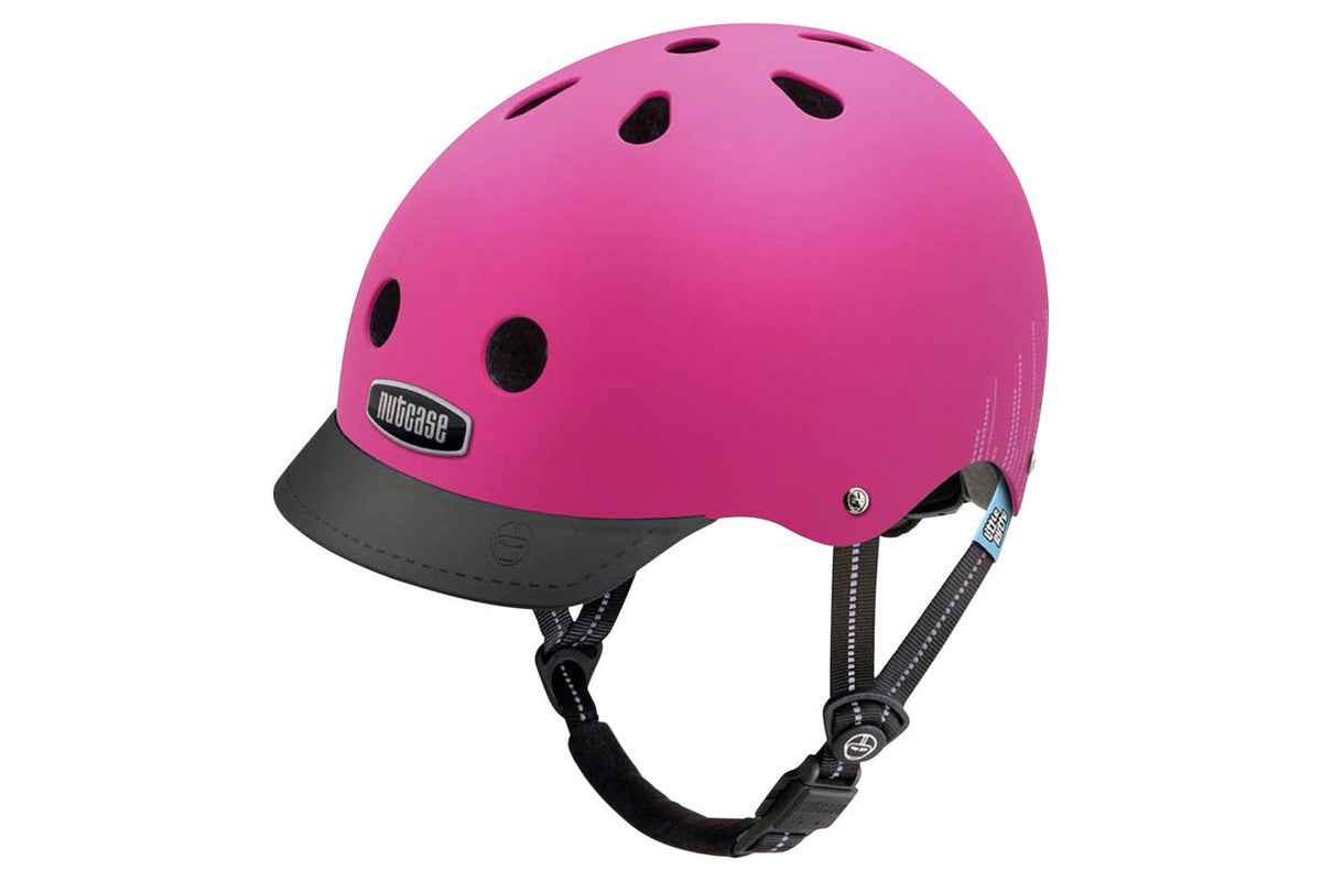 Nutcase Little Nutty MIPS Child Helmet: Pink Bubbles Matte, XS