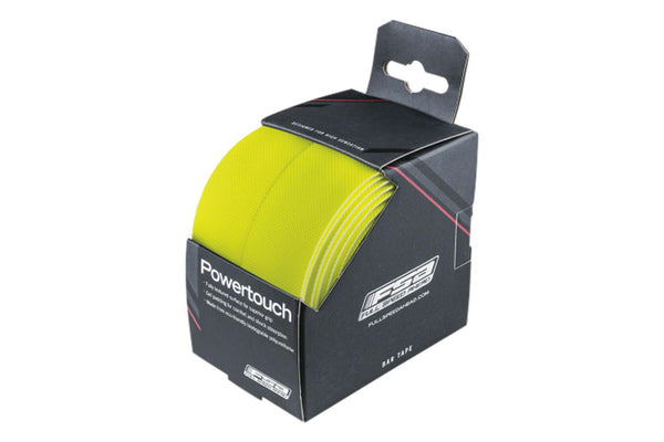 FSA PowerTouch Handlebar Tape, Neon Yellow