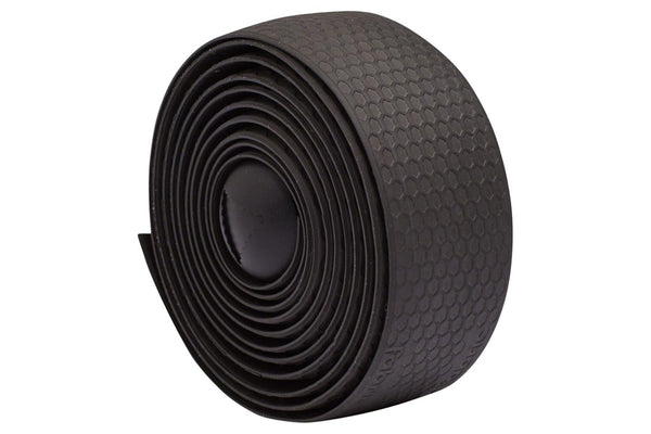 Fabric Silicone Bar Tape: Black