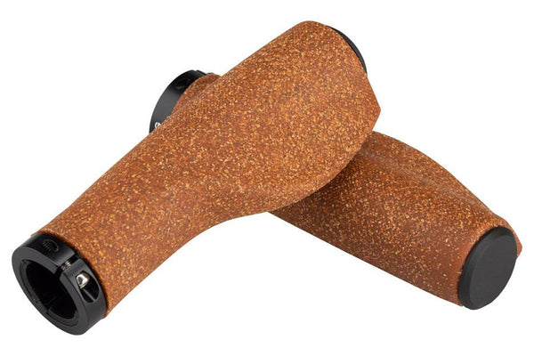 Portland Design Works Cork Chop Cork and Rubber Compound Ergo Grips, Natural