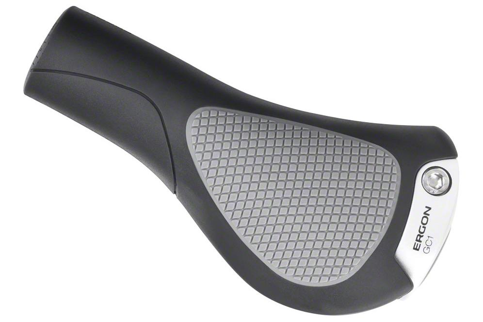 Ergon GC1 Grips: Black/Gray
