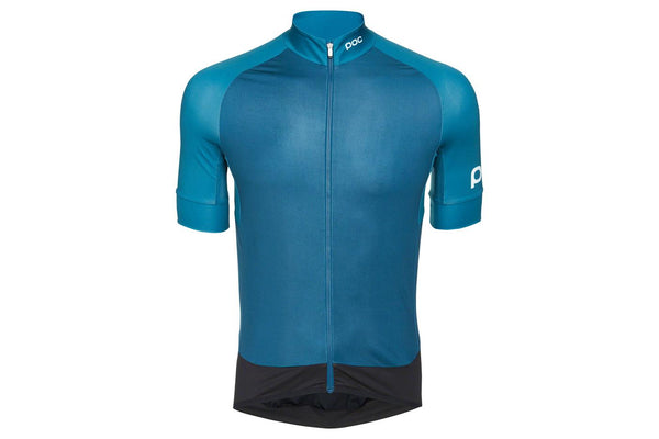 POC Essential Road Men's Jersey: Antimony Multi Blue XL