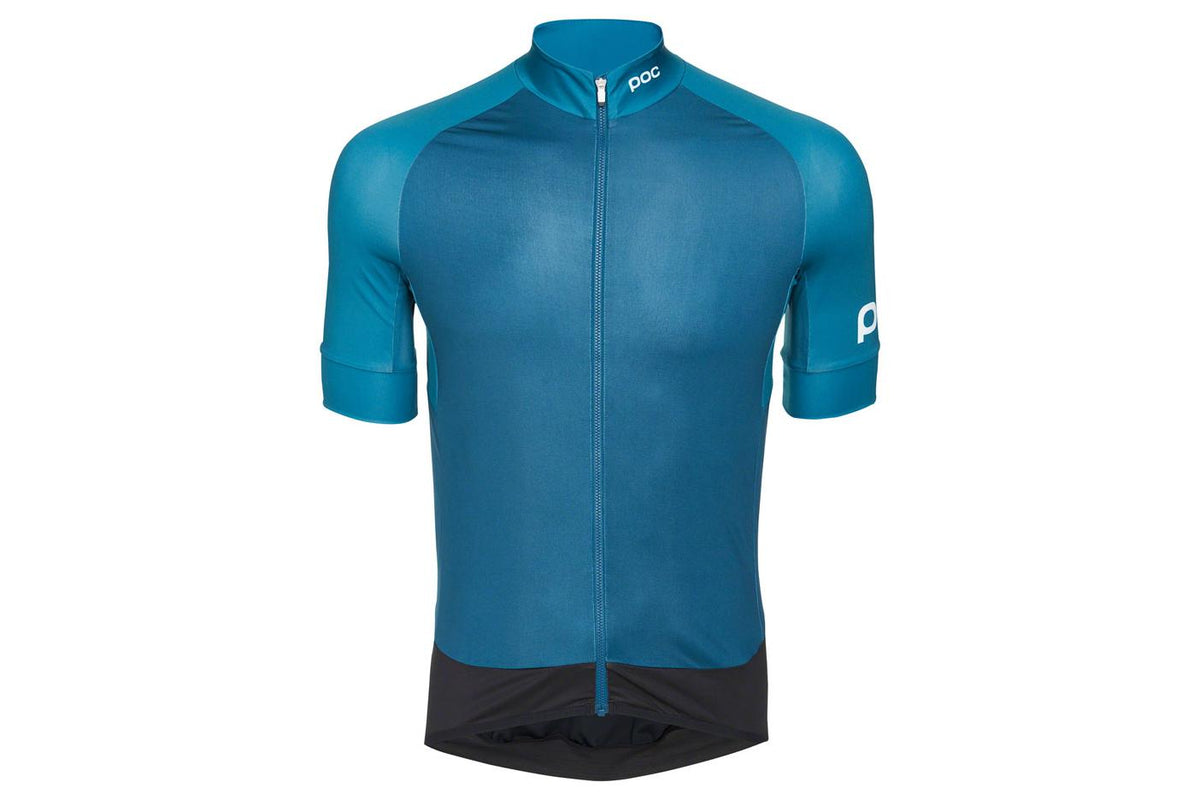 POC Essential Road Men's Jersey: Antimony Multi Blue MD