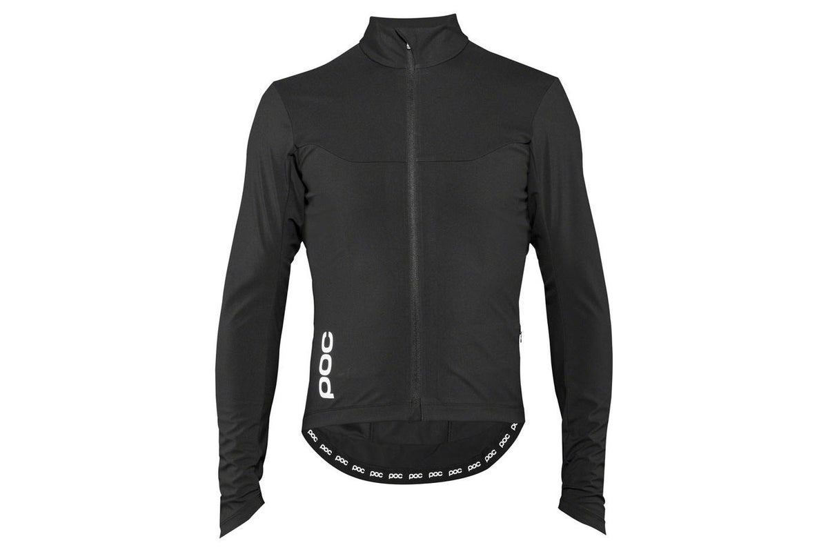 POC Essential Road Windproof Men's Jersey: Uranium Black MD
