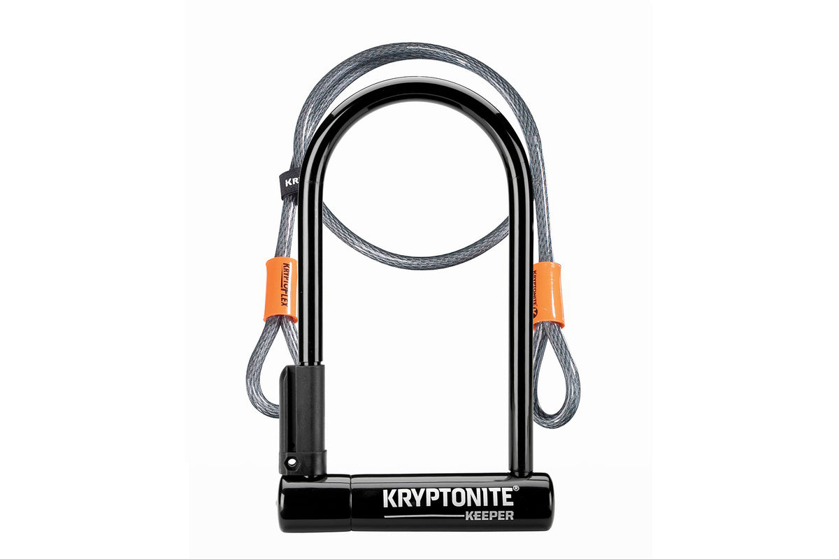 "Kryptonite Keeper w/ 4"" Flex Cable"